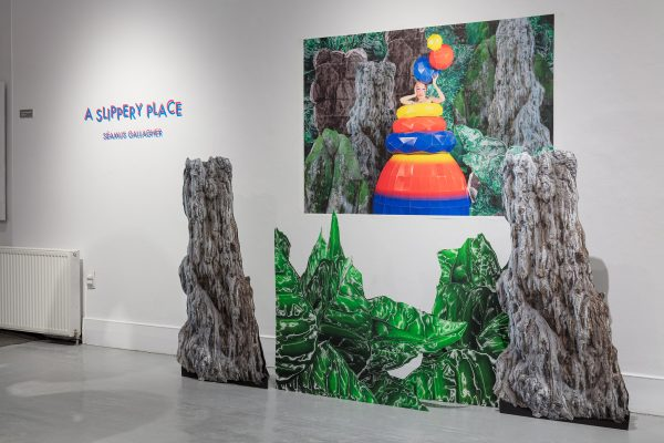 Séamus Gallagher, A Slippery Place 3, 2018, exhibition view